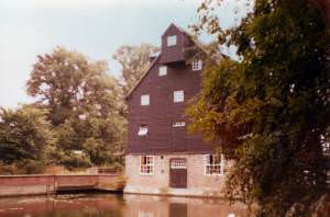 Houghton Mill Youth Hostel, Huntingdonshire, in 1977