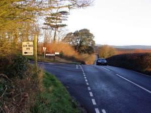Langton Cross on the B3157