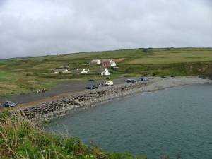 Car park at Abereiddy