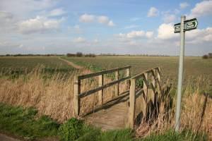 Billgate Lane footbridge