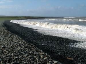 The Cobbled  Beach of Llanrhystud