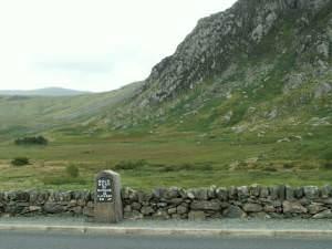 Milestone A5, Holyhead 37 miles
