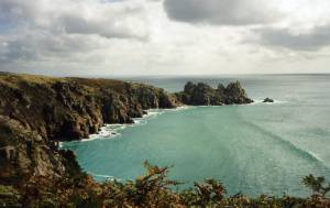 Logan Rock, near Porthcurno