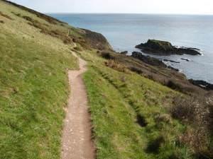 Looe: coast path between Talland and Looe