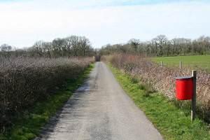 Highampton: cycleway