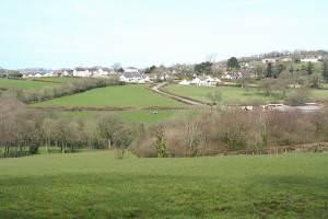 Highampton: towards the village