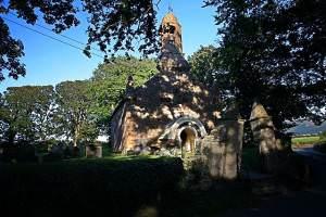 Ballaugh Old Church - summer view