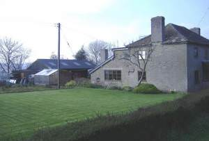 Farmhouse at Brilley Mountain