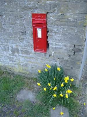 Postbox at Brilley Mountain