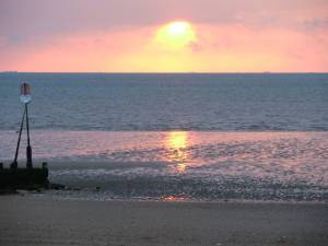 Sunset at Hunstanton