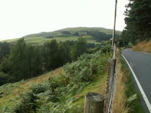 A4120 near Ponterwyd