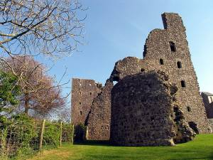 Dovecote at Oxwich Castle