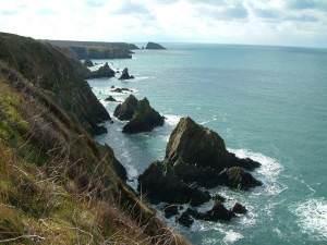 Treacherous coastline