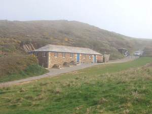 Cafe and toilets, Sandy Mouth