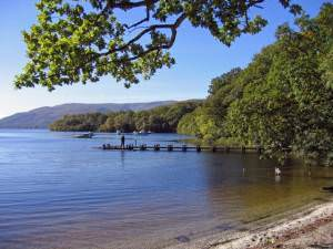 Slipway on Loch Lomond, north of Balmaha