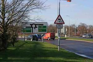 HoptonA12 Roundabout