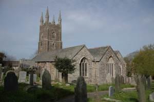 Poughill church
