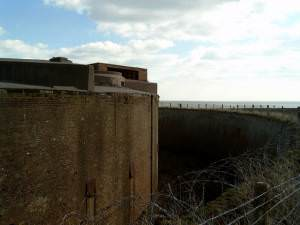 Dymchurch Redoubt Moat