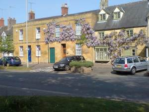 Early Wisteria, High St, Moreton-in-Marsh