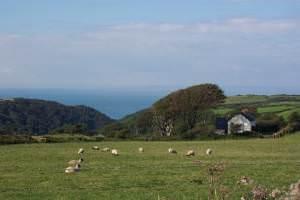 View towards Lee Bay, North Devon
