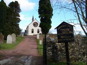 Kirkpatrick Juxta Church near Beattock