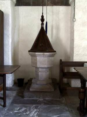 Interior of All Saints, Greetham