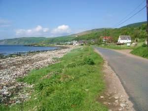 The shore at Kildonan