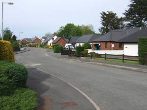Housing development Llechryd