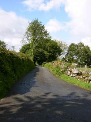 Roman Road near Brithdir