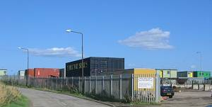 Camps industrial estate.