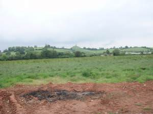 towards Glastonbury Tor