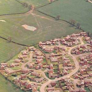 Dodleston Penfold Way Aerial Photo