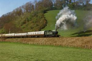 Sampford Brett: West Somerset Railway