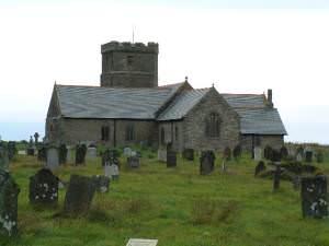 St Materiana Church , Tintagel