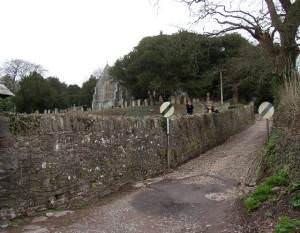Cobbled Lane, Laugharne