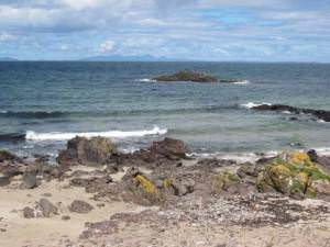 The view from the bus shelter, Machrihanish
