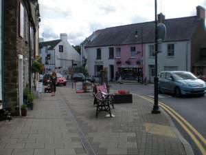 Top end of Narberth High St.