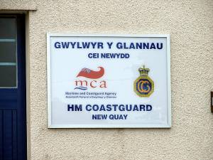HM Coastguard, New Quay
