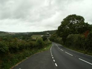 A487 near Rhydyfelin