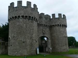 Gateway to Gwrych Castle
