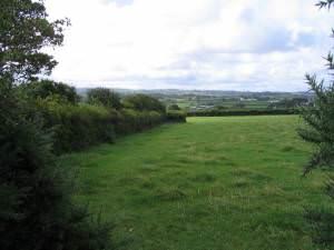 Farmland near Rhyd-yr-hwyaid