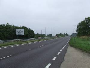 Looking South On The A12