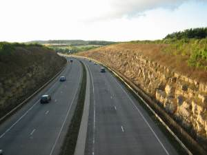 A417 near Cirencester