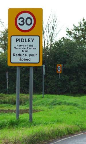 Pidley - Home of the Mountain Rescue Team