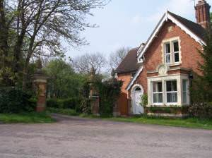 The Lodge and Gates to Blackmore House