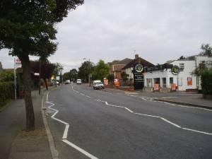 B 269 at Limpsfield Road, Sanderstead, Surrey