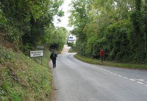 Road Junction to Pleasant Valley