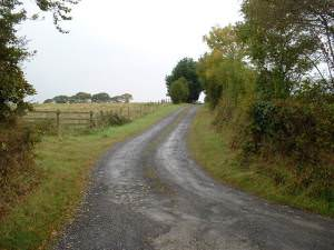 The Lane to Vallen farm