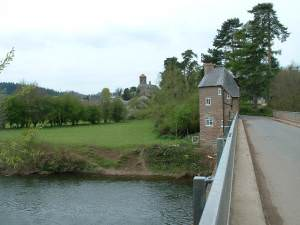 The Bridge House at Hoarwithy