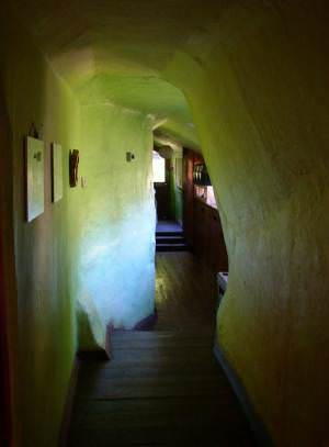 Corridor in the Steiner School, Llanycefn